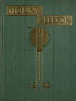 MAU Yearbook 1940