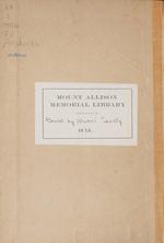 Mount Allison Record, Vol. 7-12, 1922-1929