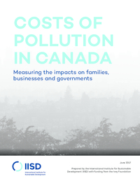 Costs of pollution in Canada