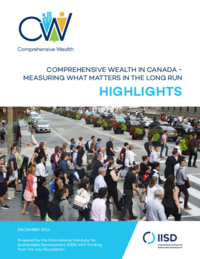 Comprehensive wealth in Canada Highlights