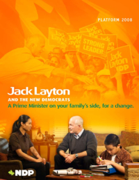 Jack Layton and the New Democrats