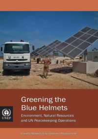 Greening the blue helmets