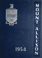 MAU Yearbook 1954