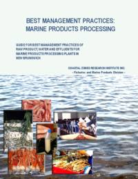 Best management practices: marine products processing