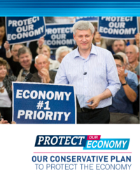 Protect our economy: our conservative plan to protect the economy