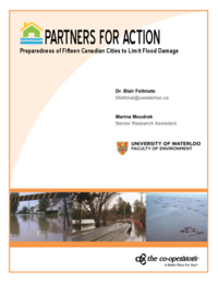 Partners for action: preparedness of fifteen canadian cities to limit flood damage