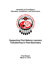Assembly of First Nations Education, Jurisdiction, and Governance