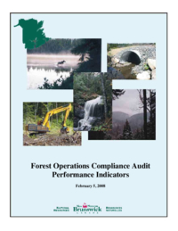 Forest operations compliance audit performance indicators