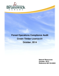 Forest Operations Compliance Audit Crown Timber Licence 01