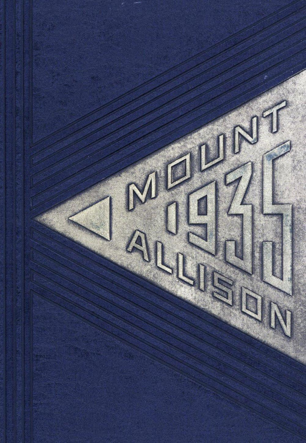 Mount Allison Yearbooks